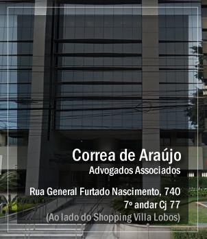 Correa de Araújo Advogados Localização
